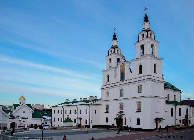 Расположение собора на карте Минска, адрес, время работы и расписание богослужений, как добраться самостоятельно