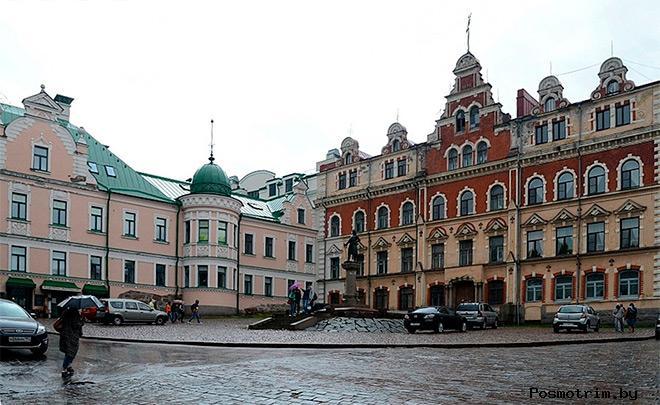 Площадь Старой Ратуши Выборг