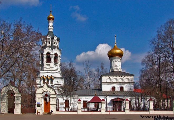 Ильинский храм в Черкизове