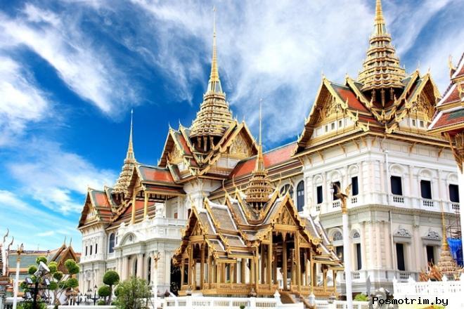Большой дворец в Бангкоке Тайланд (Ват Пхра Кео)