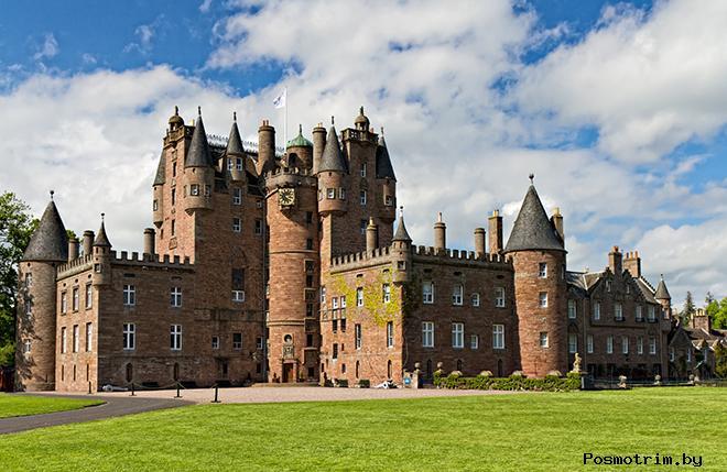 Замок Глэмис Шотландия