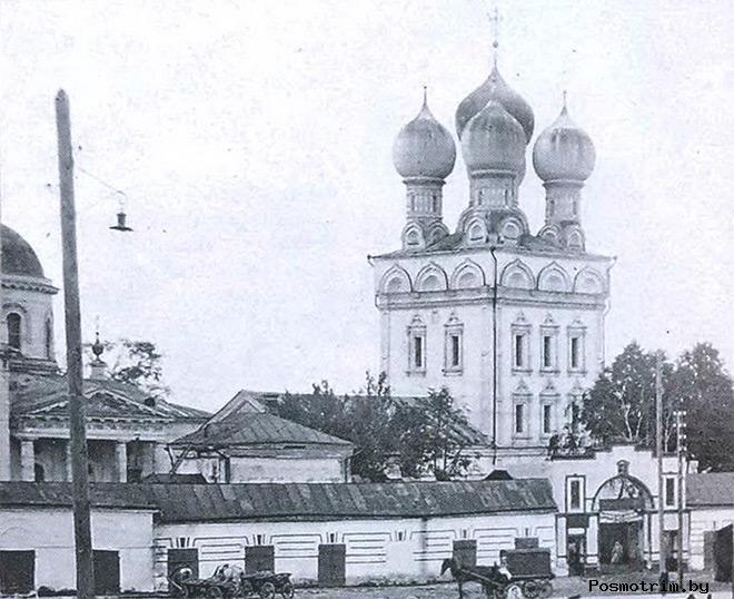 Строительство собора Михаила Архангела в Бронницах
