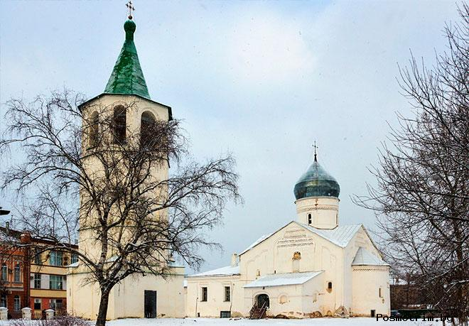Храм Димитрия Солунского Великий Новгород