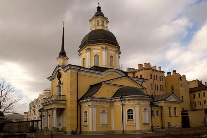 Церковь Симеона Богоприимца и Анны Пророчицы в Санкт-Петербурге