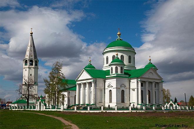 Смоленская церковь Выездное