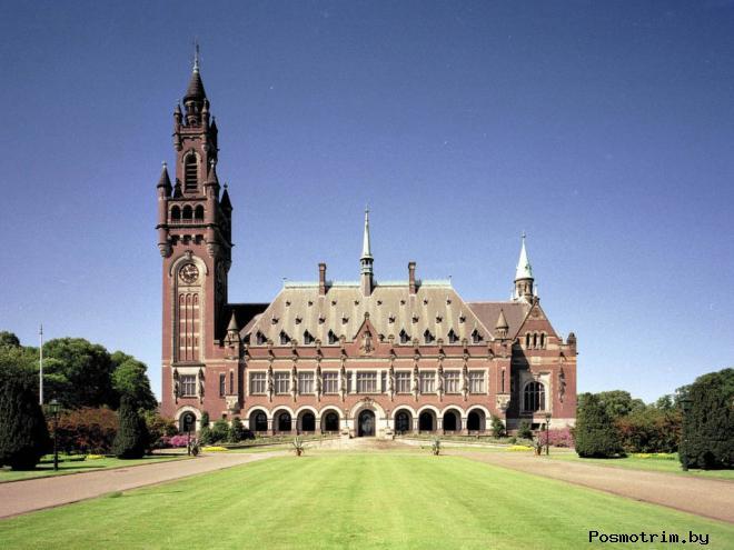 Дворец Мира в Гааге Нидерланды