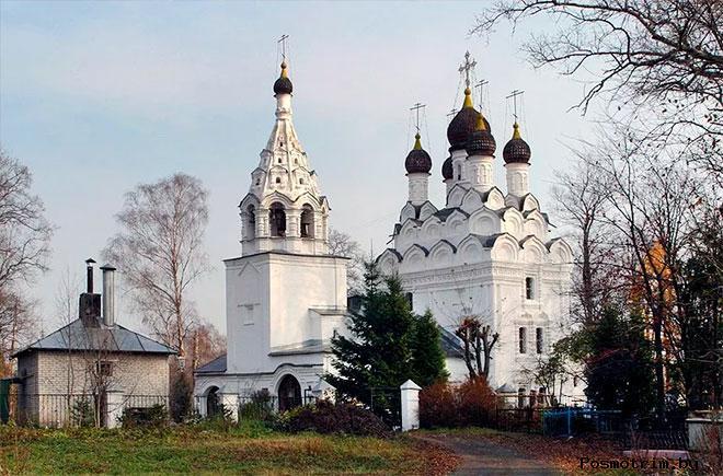 Храм Сергия Радонежского Комягино богослужения контакты как добраться расположение на карте