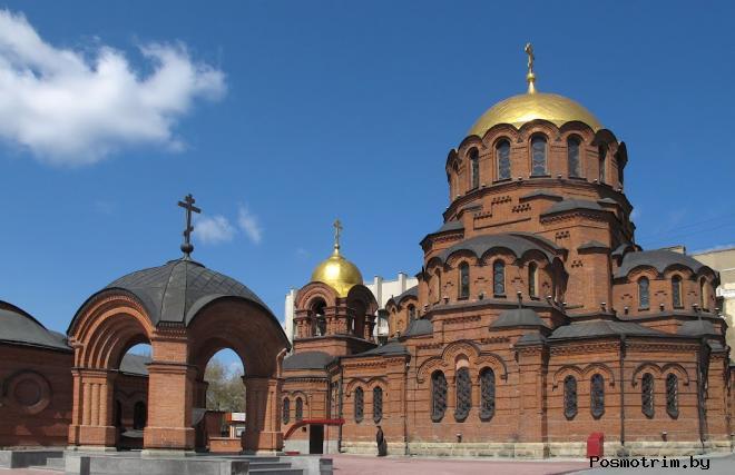 Собор Александра Невского Новосибирск новое время