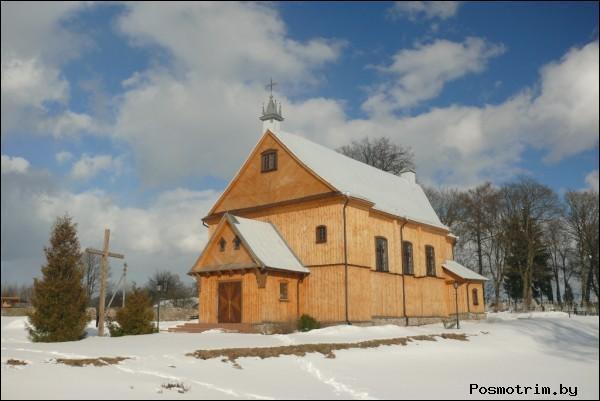 Костел Пресвятой Девы Марии Гудогай