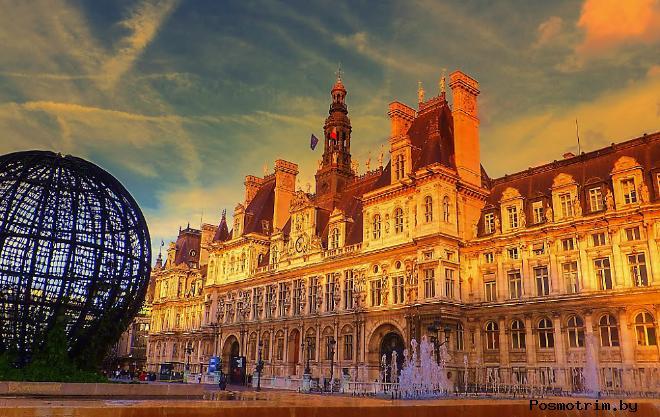 Отель-де-Виль в Париже – мэрия города