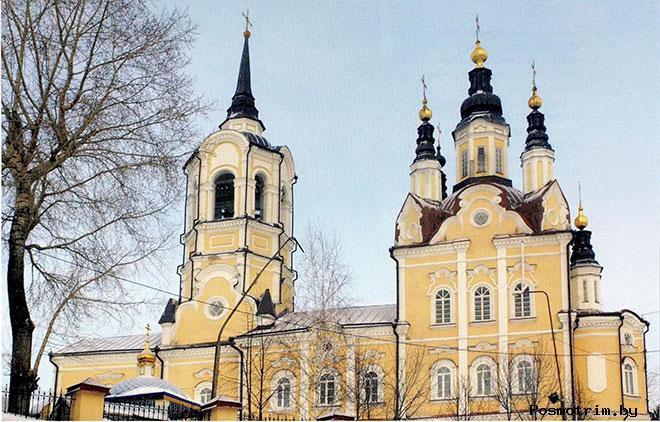 Воскресенская церковь Томск