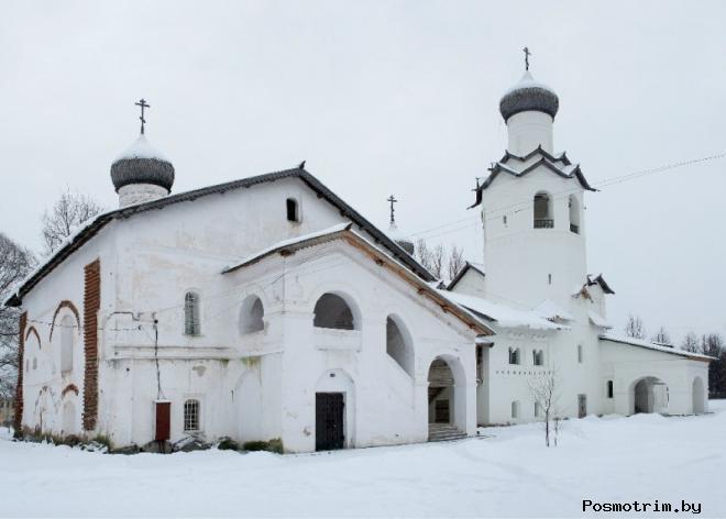 Ансамбль Спасо-Преображенского монастыря Старой Руссы
