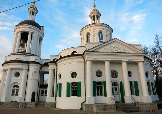 Храм Влахернской Божией Матери в Кузьминках советское время