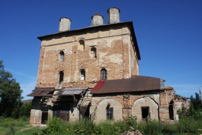 Крестовоздвиженская церковь Серпухов