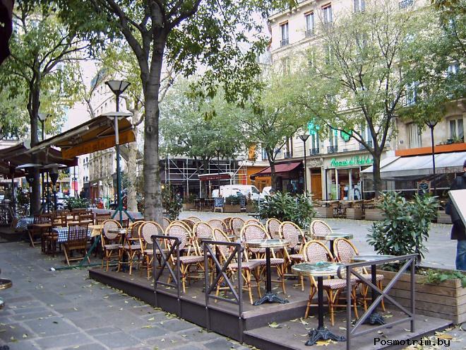 Квартал Марэ в Париже история