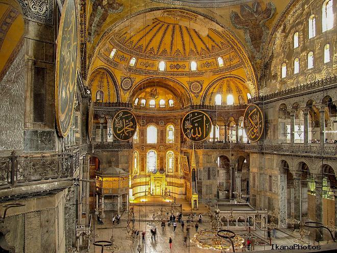 Мечеть Айя-София дальнейшая перестройка собора