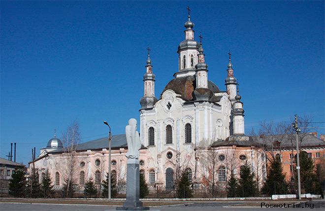 Архитектура Спасо-Преображенского собора Шадринска