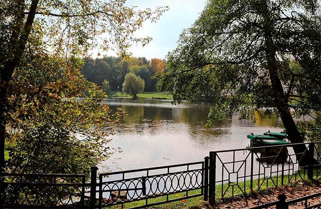 Парк усадьбы Кузьминки
