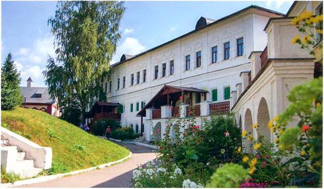Братские корпуса Саввино-Сторожевского монастыря