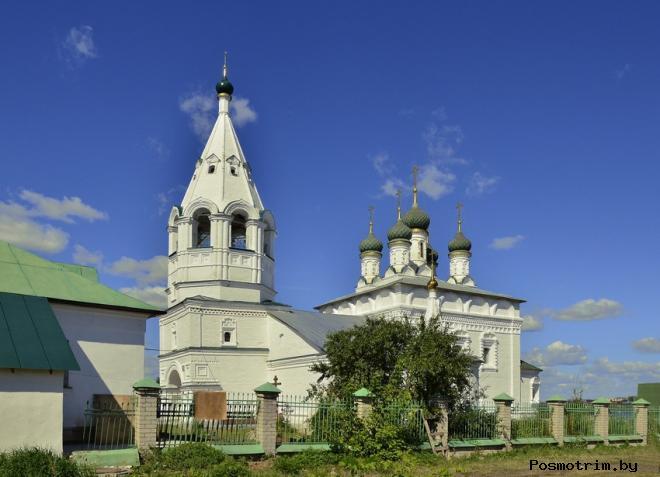 Храм Спаса Преображения за Волгой Кострома