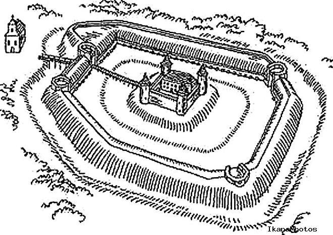 Архитектура Геранёнского замка