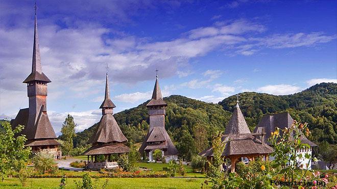 Марамуреш Румыния деревянные церкви