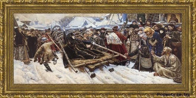 Образ боярыни Морозовой на картине Василия Сурикова