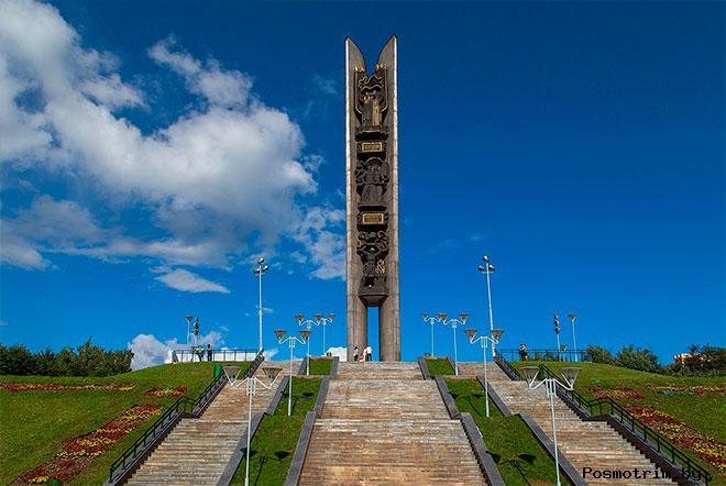 Монумент «Дружбы народов» Ижевск