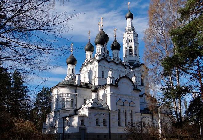 Строительство храма иконы Казанской Божией Матери в Зеленогорске