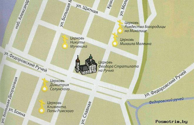 Церковь Феодора Стратилата на Ручью график работы контакты как добраться расположение на карте