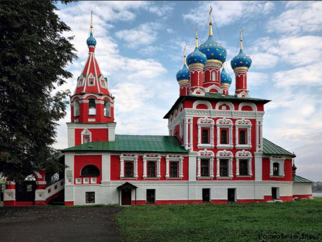 История города Углич и Угличского кремля
