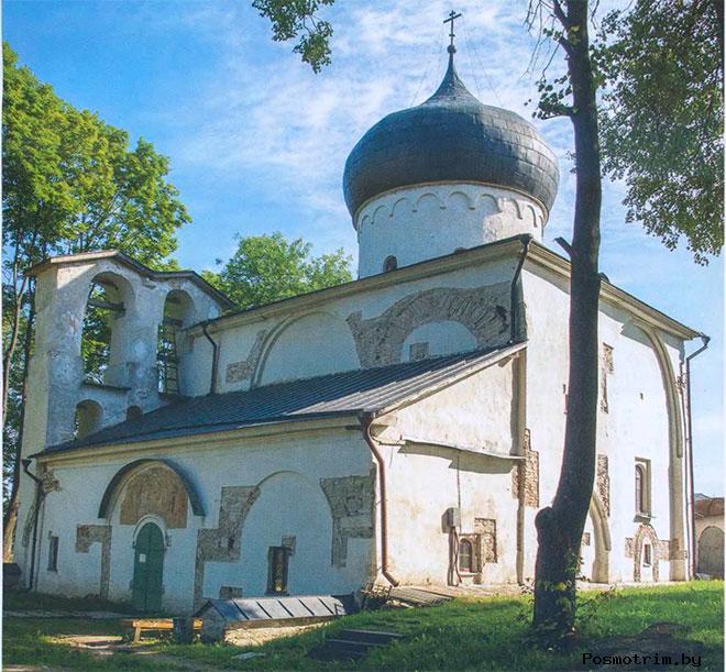 Спасо-Преображенский собора Мирожского монастыря архитектура