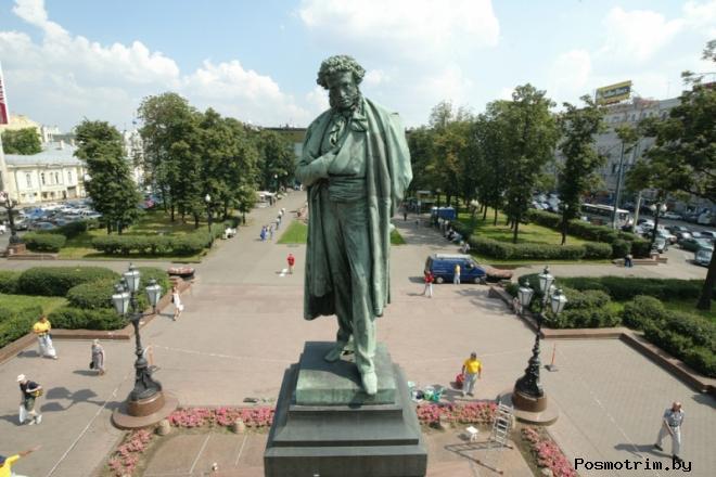 Памятник Пушкину Москва Пушкинская площадь