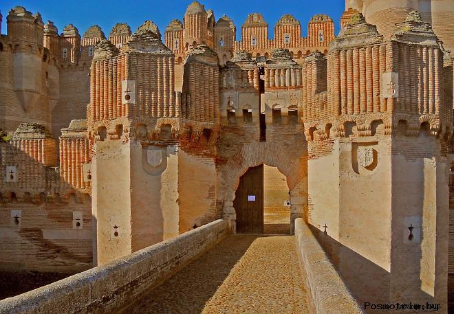 Замок Кока - Castillo de Coca Испания