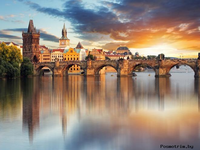 Карлов мост Прага Чехия фото описание история