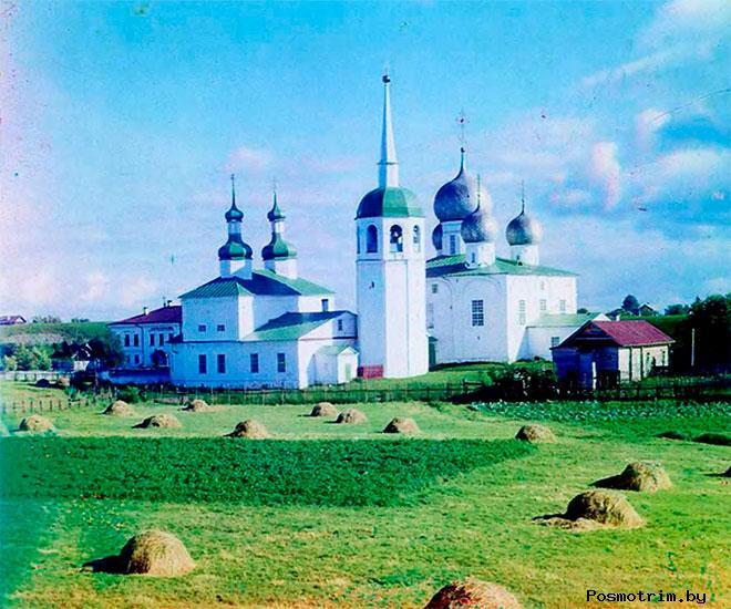 Соборная площадь Белозерска