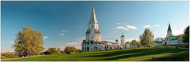 Исследования и многочисленные реставрации и архитектурные изменения в Вознесенской церкви села Коломенское