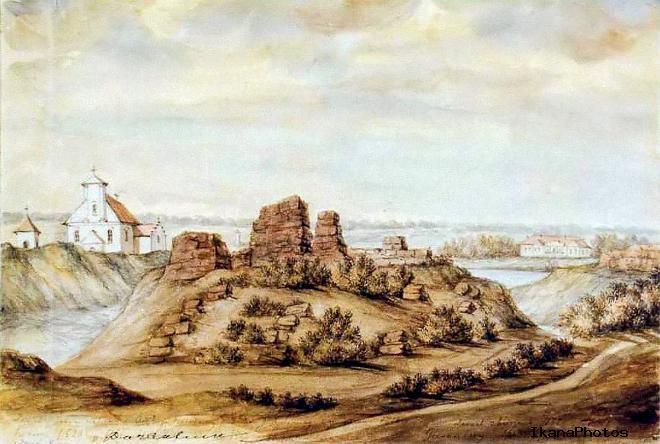 Геранёнский замок военное и политическое значение замка в Геранёнах
