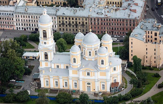 Строительство Князь-Владимирского собора
