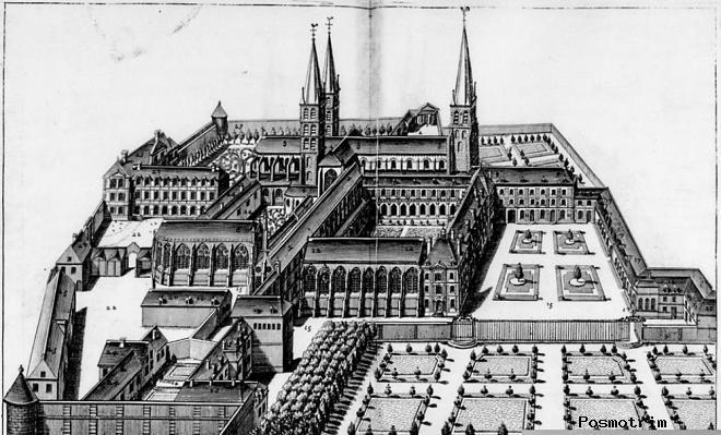 История церкви Сен-Жермен-де-Пре в Париже