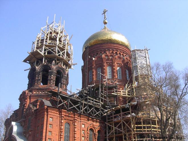 Храм Богоявления на Гутуевском острове история