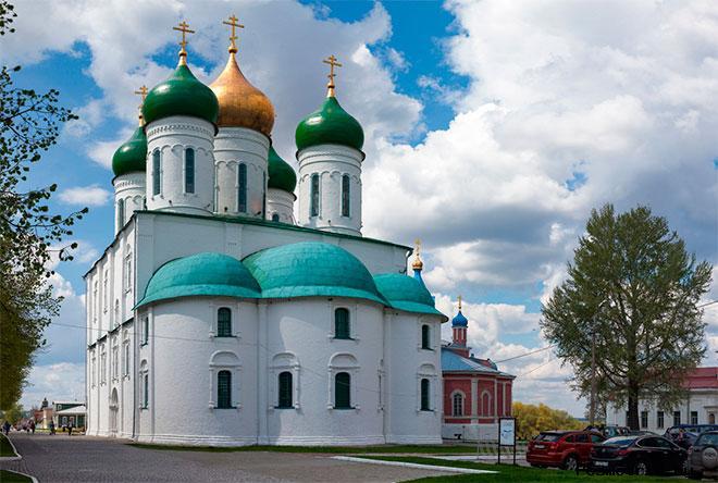 Успенский собора Коломна Кафедральный