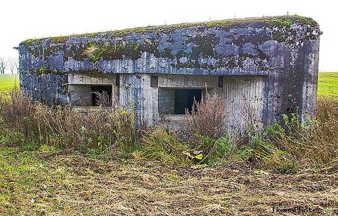 Доты второй мировой войны Беларусь - опорный пункт Полоневичи Минского укрепрайона.