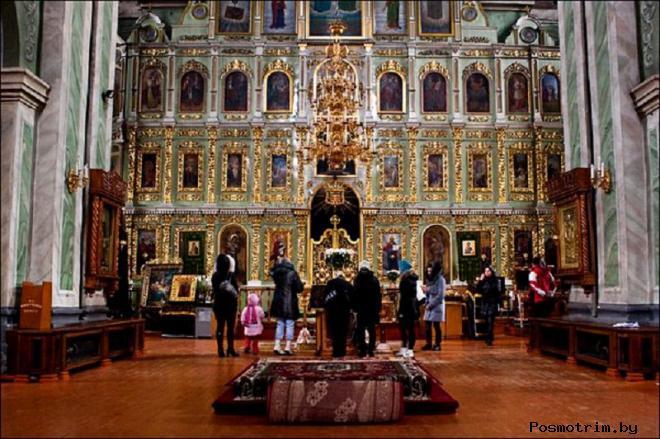 Интерьер Троицкого собора Чернигова