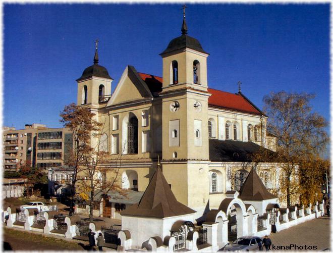 Собор Петра и Павла Минск расписание богослужений расположение на карте Минска