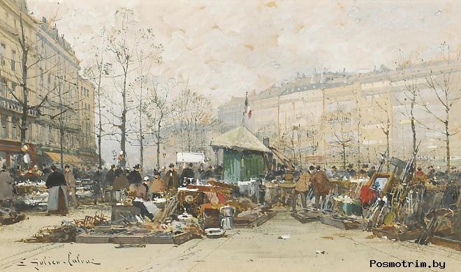 Обзор Парижских блошиных рынков