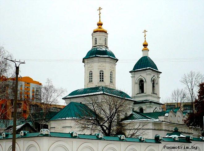 Церковь Троицы Живоначальной Саранск