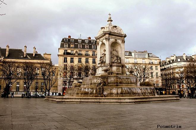 Достопримечательности района Сен-Жермен в Париже