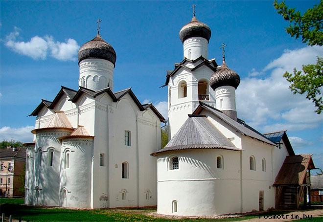 Спасо-Преображенский монастырь Старая Русса