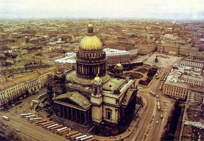 История строительства Исаакиевского собора